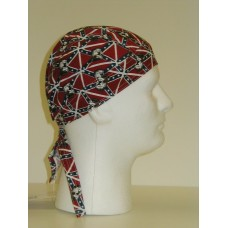tossed confederate bulldog head wraps