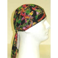 black parrots ezdanna head wraps
