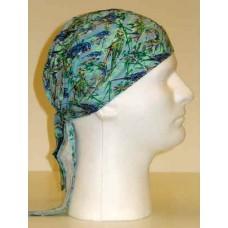 blue parrots ezdanna head wraps