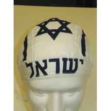 israel flag ezdanna head wraps