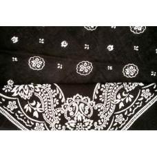 black bandanna ezdanna head wrap