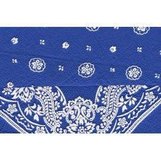 blue bandanna ezdanna head wrap