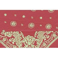 red bandanna ezdanna head wrap